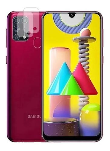 Capa Case Capinha + Película Vidro + Plc Cam Samsung M31