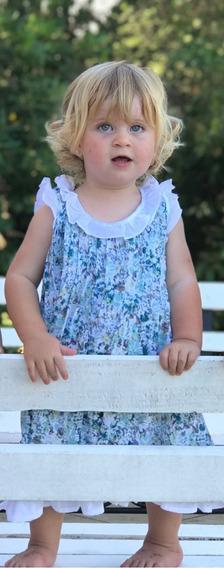 Vestidos De Niñas, Vestido De Nena Azucena, La Popeline