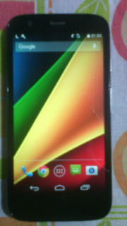 Moto G Android 4.4 4g Novo, Micro Chip, Carregador E Fone