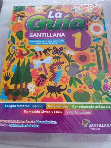 Imagen 1 de 4 de La Guía 1°. Santillana  , Sector Publico  (4 Vol. 2021-2022)