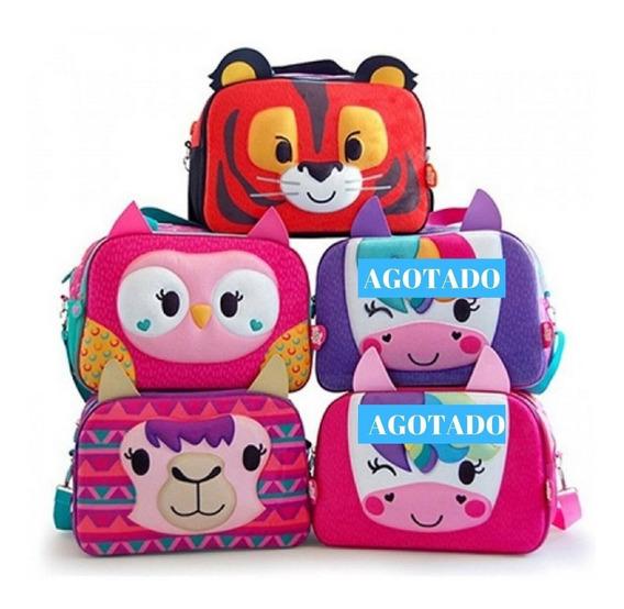 Bolso Zoo Bags Animalitos Tigre Buho Llama Ct Mmk