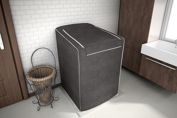 Capa P/ Máquina De Lavar 12 A 16kg Café Tds Marcas Promoção!