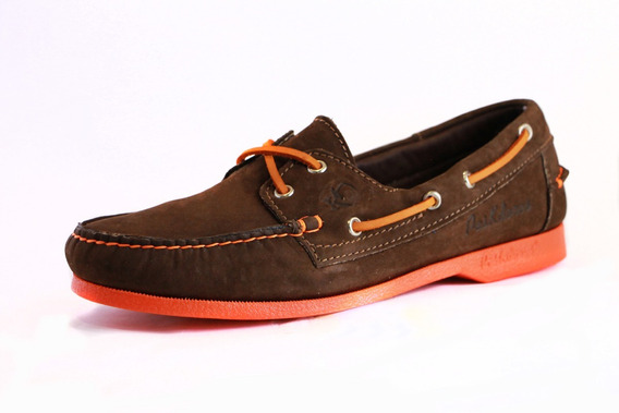 Zapatos Nauticos Mocasines Peskdores Orange Honey Oh00085