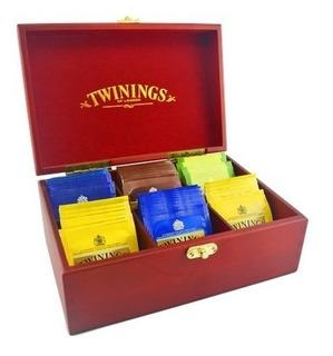Caja Madera Té Twinings Con (60 Bolsitas) Envío Gratis