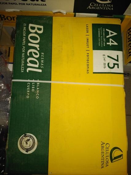 Resma Boreal 75 Gs X 10 (caja)