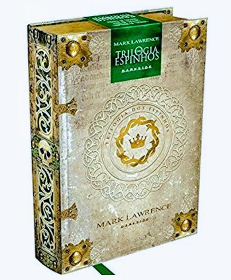 Livro Trilogia Dos Espinhos - Edição Colecionador Darkside