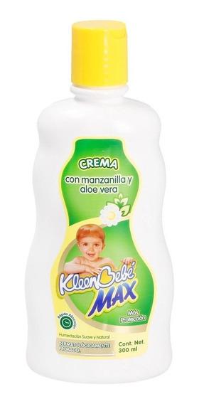 Crema Para Bebé Kleenbebe Manzanilla Y Aloe Vera 300 Ml