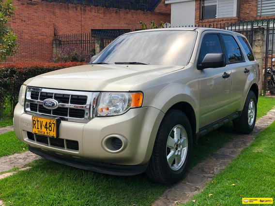 Ford Escape 3000icc V6 4x2 At Aa Ab Abs Fe