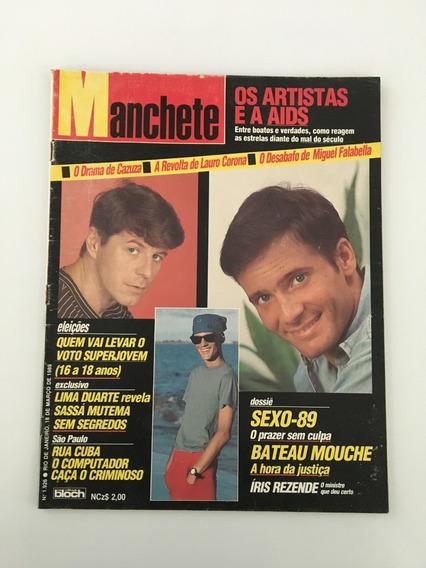 Revista Manchete Cazuza Miguel Falabella - 10 Março 1989