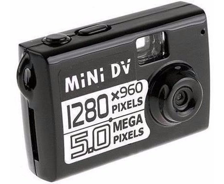 Câmera Espiã Filmadora 5 Mp Detecção De Movimento
