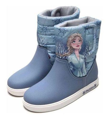 Bota Infantil Disney Style - 22207 Minnie Ou Frozen Original