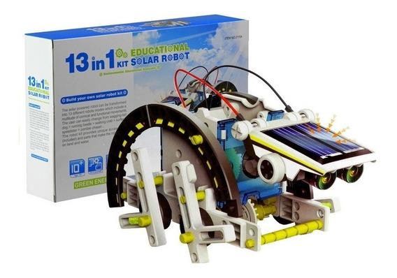 Robot Solar Armable Recargable 13 En 1 Tierra Y Agua /e
