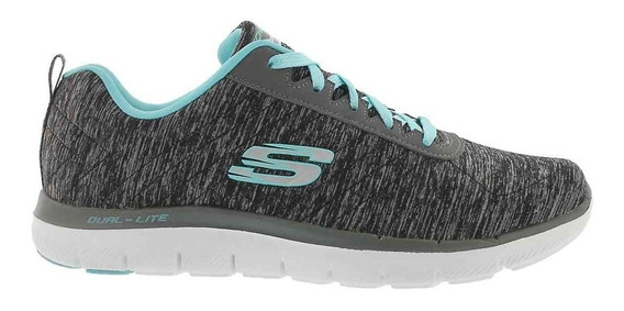 Zapatillas Skechers Flex Appeal 2.0 12753 Bklb (2753)