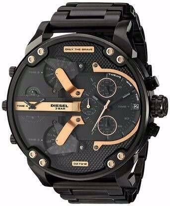 Relógio Diesel Preto Dz 7312