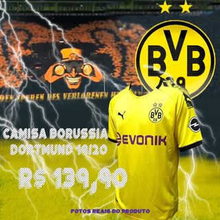 Camisa Borussia Dortmund 19/20