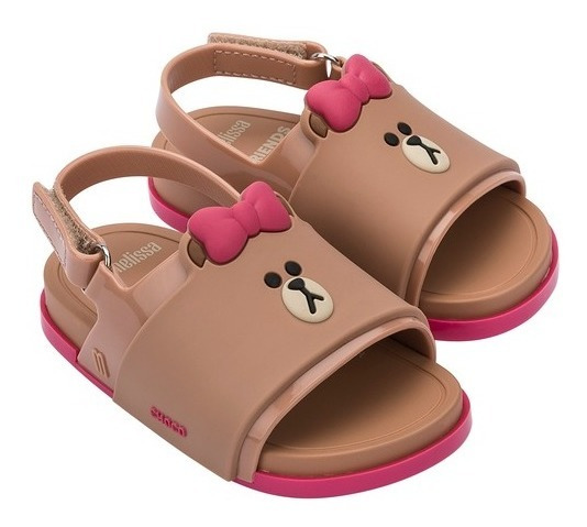 Mini Melissa Beach Slide Sandal Line Friends Ref. 32919