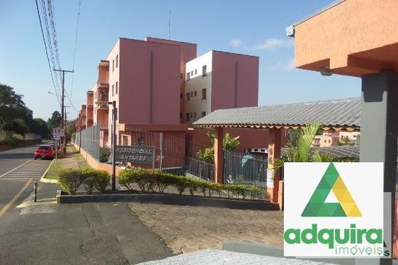 Apartamento Padrão Com 3 Quartos No Residencial Antares - 1070-v