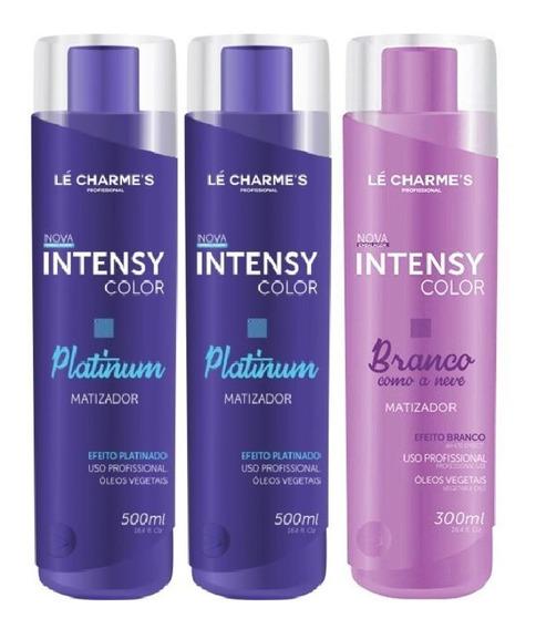 Intensy Color Kit: 2 Platinum 500m+ 1 Branco Como Neve 300m