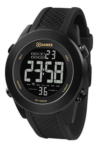 Relógio X-games Masculino Xmnpd001 Pxpx Aço Preto Digital
