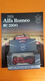 Colección El Comercio Alfa Romeo 8c 2300 Carro Vehículo Auto
