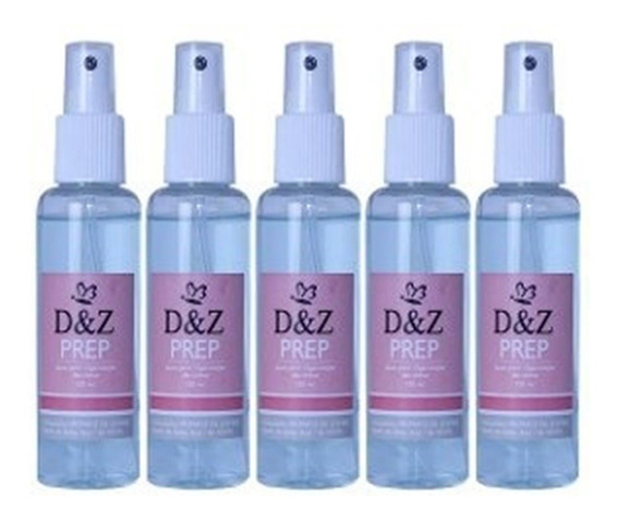Kit 5 Prep D&z Para Anti Fungos - 120 Ml Promoçao Oferta
