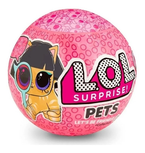 Lol L.o.l Surprise Pets Mascotas Original Muñeca Educando