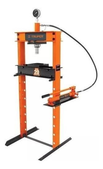 Prensa Hidraulica Manometro 20 Ton Truper 17685 Profesional