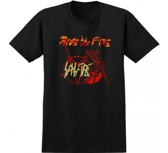 Playera Spitfire S/s No Mercy Blk/red
