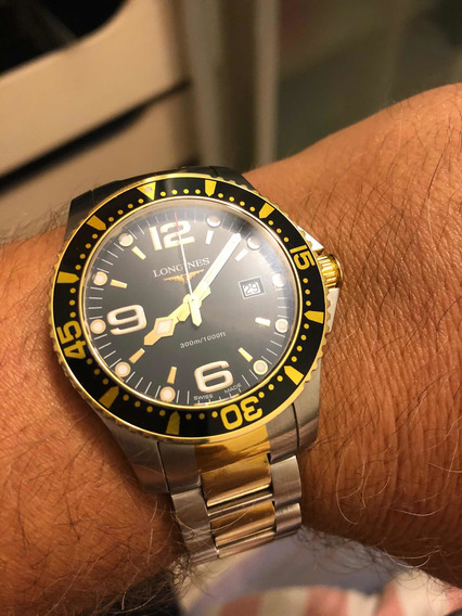Relógio Longines Hydroconquest Two-tone Quartz Impecável