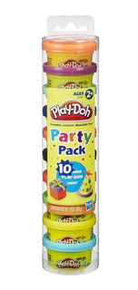 Massinha Play Doh Party Pack 10 Mini Potes - Hasbro