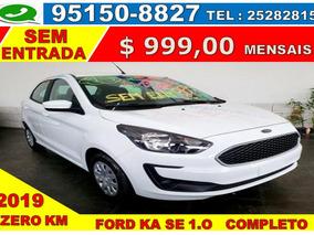 Ford Ka 1.0 Se Flex Trabalhe No Uber