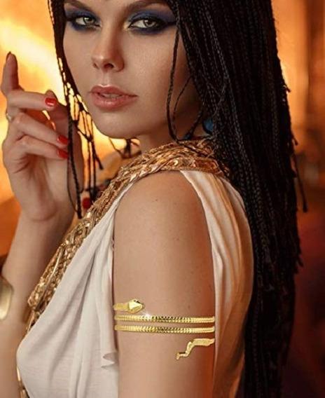 Fashion Pulseira Bracelete Braco Dourada Cobra Espiral Luxo
