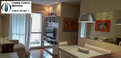 Imagem 1 de 15 de Lindo Apartamento Com 3  Dormitórios E 1 Vaga Na Vila Das Merces - 1461