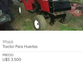 Tractor Para Huertas