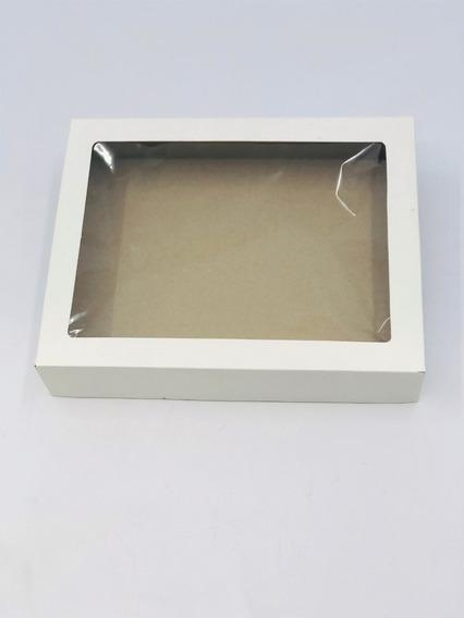 20 Caixas De Presente V2 24x19x4,5 -visor Cremes Artesanato
