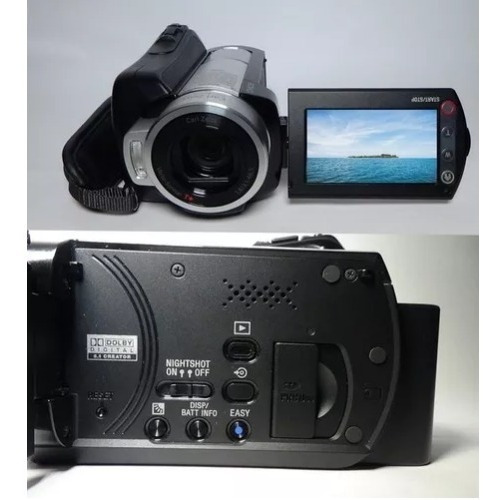 Filmadora Sony Hdr-sr10 Nightshot Hd 40 Giga