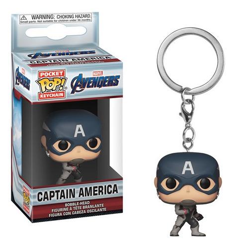 Funko Pop Keychain Captain America Avengers Endgame