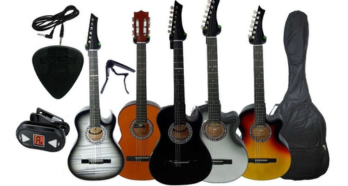 Guitarra Electroacustica Afinador Electronico Capo