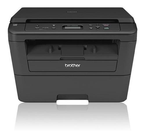 Impressora multifuncional Brother DCP-L2520DW com wifi 110V preta