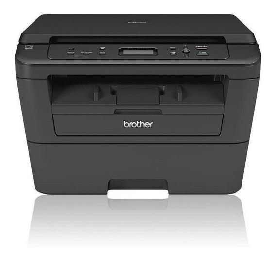 Impressora a cor multifuncional Brother DCP-L2 Series DCP-L2520DW com Wi-Fi 110V preta