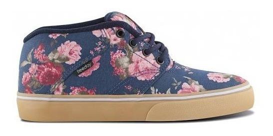 Tênis Skate Freeday True Lite Floral
