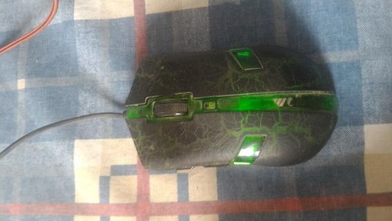 Mouse Gamer Com Defeito No Laser