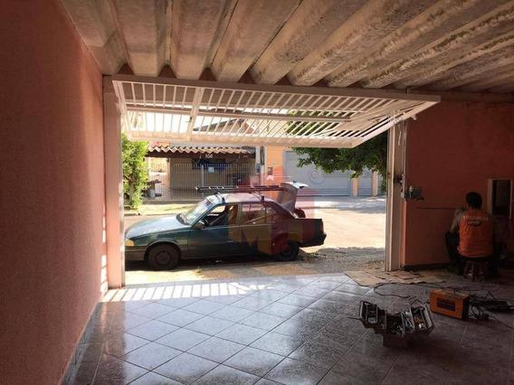 Casa Com 2 Dormitórios Para Alugar, 100 M² Por R$ 880/mês - Parque São Jerônimo - Americana/sp - Ca0513