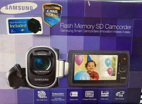 Câmera Filmadora Samsung Smx-f400bn/smx Pouco Usada