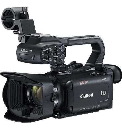 Filmadora Canon Xa15 Compacta Full Hd Com Sdi, Hdmi E Saída Composta