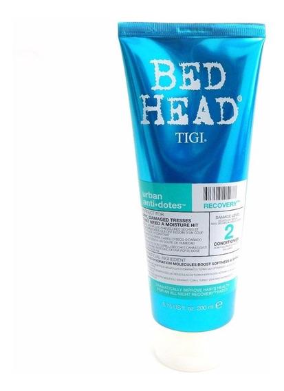 Tigi Bed Head Recovery Enjuague Nutricion X 200 Pelo Dañado