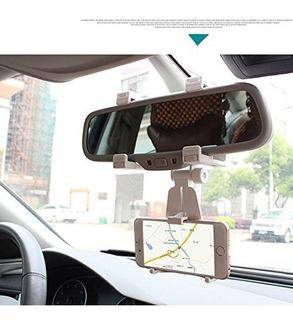 Porta Teléfonos Inteligentes Universales Espejo Retrovisor P