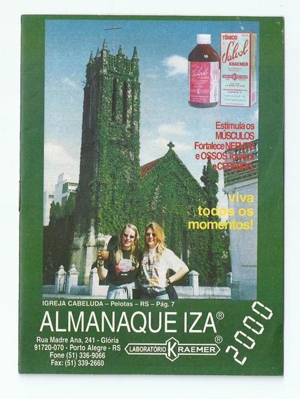 Almanaque Antigo Laborátório Kraemer - Iza - Ano 2000 - Ai