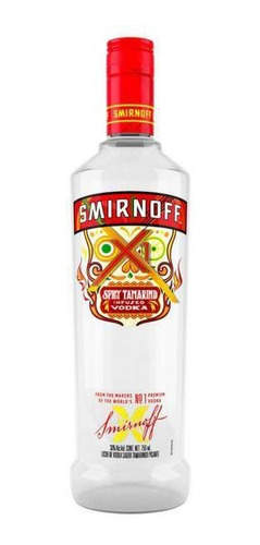 Imagen 1 de 1 de Vodka Smirnoff Spicy Tamarindo    750 Ml