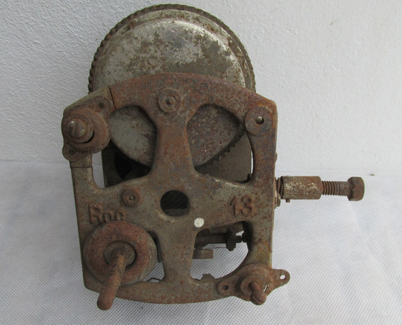 Antigua Maquina Doble Cuerda, Fonografo, Repuesto, Restau #l